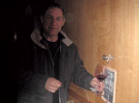 La cuve de Châteauneuf d'Yves Gras