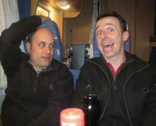 Xavier Peyraud et Nicolas Lebrun